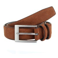 Dents Mens Formal Leather Belt Brown