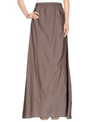 Gotha Skirts Long Skirts Women Khaki