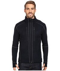 Kuhl Interceptr Jacket Mutiny Blue Men's Sweatshirt Black