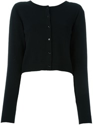 Dorothee Schumacher Open Back Sweater Black
