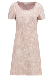 Cream Faly Summer Dress Rose Blush
