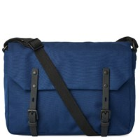Ally Capellino Jez Ripstop Messenger Bag Blue