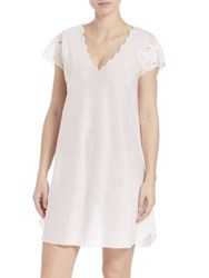 Natori Cotton Voile Sleepshirt White