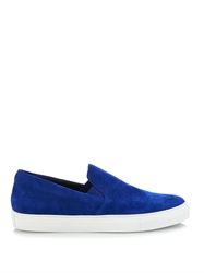 Christopher Kane Suede Slip On Trainers