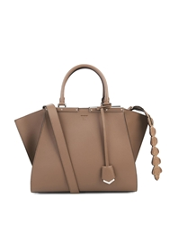 Fendi 3Jours Small Crocodile Trapeze Tote