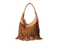 Scully Oh So Soft Leather Fringe Bag Tan Bags