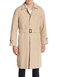 Lauren Ralph Lauren Single Breasted Trenchcoat Tan