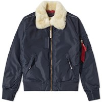 Alpha Industries Injector Iii Jacket Blue