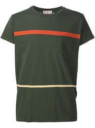 Levi's Vintage Clothing Striped T Shirt Green