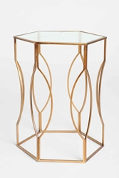 Hexagon Side Table Urban Outfitters