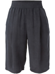Joseph Knee Lenght Pleated Shorts