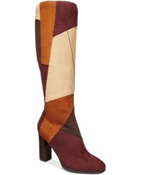 Impo Omega Patchwork Boots Women's Shoes Spice Multi