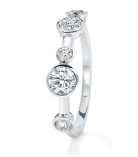 Boodles Half Raindance Platinum Ring Female