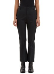 Vetements High Waisted Flared Pants Black