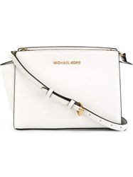Michael Michael Kors Small Crossbody Bag White