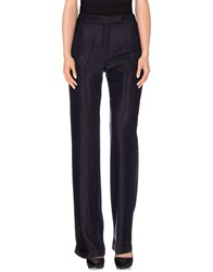 Ann Demeulemeester Trousers Casual Trousers Women Dark Purple