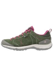Hi Tec Hitec Equilibrio Bellini Low I Wp Walking Shoes Thyme Hawthorn Rose Dark Green