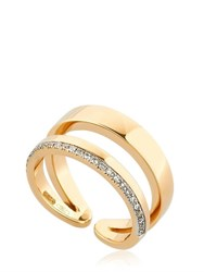Antonini Siracusa Double Band Diamond Midi Ring
