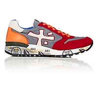 Premiata Men's Mick Low Top Sneakers Red
