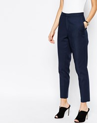 Selected Vennie Skinny Tailored Trousers Navy