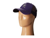 New Era Sequin Vize Colorado Rockies Team Black Caps