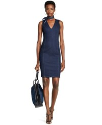 Polo Ralph Lauren Denim Sheath Dress
