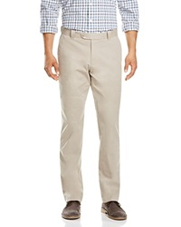 The Men's Store At Bloomingdale's Brushed Cotton Regular Fit Pants Stone