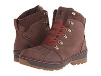 The North Face Ballard Duck Boot Butter Rum Brown Brick House Red Men's Hiking Boots
