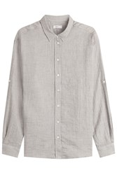 Closed Cotton Blouse Grey