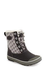 Keen Women's 'Elsa' Waterproof Boot Houndstooth