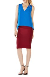 Bcbgmaxazria Women's 'Eliza' Colorblock Sleeveless Top