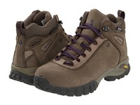 Vasque Talus Ultradry Bungee Cord Purple Plumeria Women's Hiking Boots Brown
