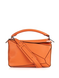 Loewe Leather Puzzle Bag