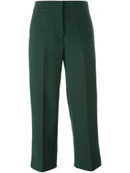 Marni Cropped Trousers Green