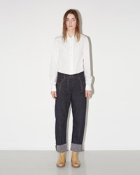 Maison Martin Margiela Washed Satin Trouser Black