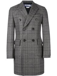 Junya Watanabe Comme Des Garcons Man Double Breasted Coat Brown