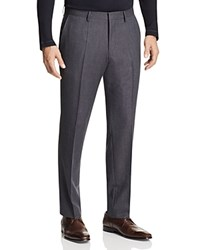 Hugo Boss Giro Slim Fit Trousers With Leather Piping Navy
