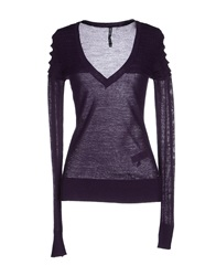 Amy Gee Sweaters Mauve
