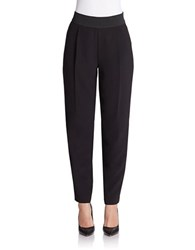 424 Fifth Shaped Pleated Trousers Black