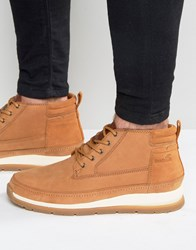 Boxfresh Cryser Leather Boots Tan