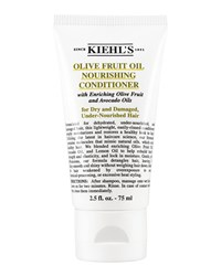 Travel Size Olive Fruit Oil Nourishing Conditioner 2.5 Fl. Oz. Kiehl's Since 1851 Olive Green