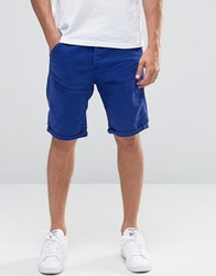G Star Elwood 5620 Denim Shorts 3D Tapered Bright Prince Blue