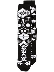 Marcelo Burlon County Of Milan 'Melimoyu' Socks Black