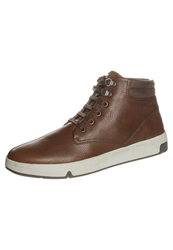 Stonefly Dusty Hightop Trainers Cigar Brown