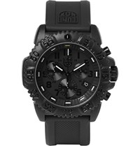 Luminox Navy Seal Colormark 3081.Bo Series Carbon Reinforced Chronograph Watch Black