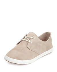 Splendid Solvang Suede Lace Up Sneaker Dark Stone