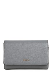 Dkny Vintage Grey Leather Wallet
