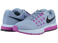 Nike Air Zoom Vomero 11 Blue Grey Hyper Violet Blue Tint Black Women's Running Shoes