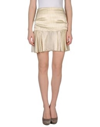 Philosophy Di Alberta Ferretti Knee Length Skirts Beige