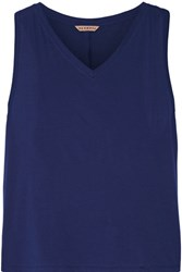 Olympia Activewear Cotton Jersey Tank Storm Blue